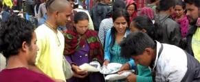 ISKCON nepal relief